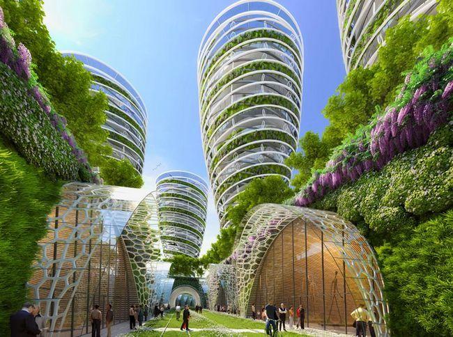 Projekt: Green Paris -2050 (do roku 2050 Paris Smart City)