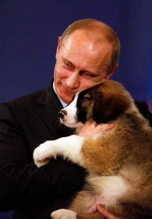 Putin dao BULGARIAN PUPPY RASE