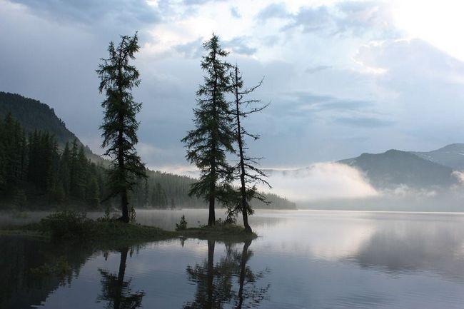 Prekrasna slika prirode Baikal.
