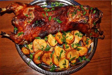Рецепт приготовления «нутрия в духовке»