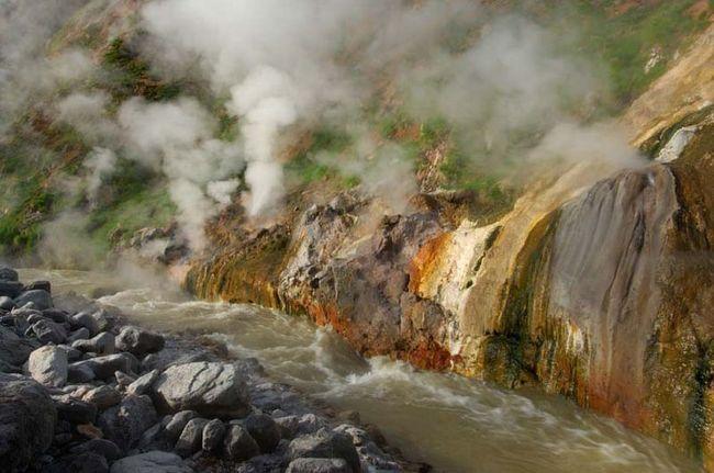 River Geyser, Kamčatka