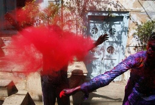 Indiji. Festival boja, New Delhi