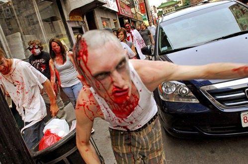 Zombi marš u Bostonu