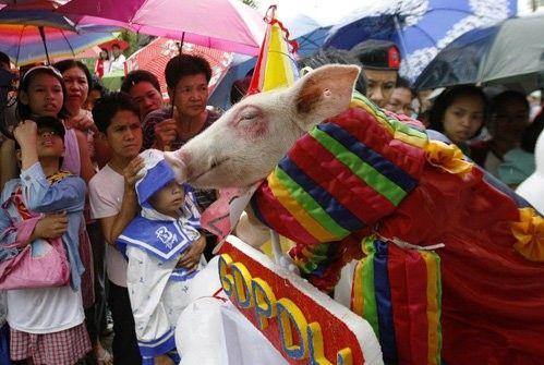 Filipini. festival prasadi