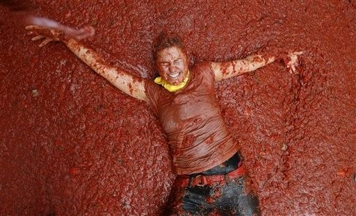 Španjolska. paradajz Battle