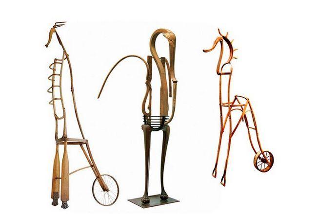 Skulpture čudne životinje iz Marc Sparfel
