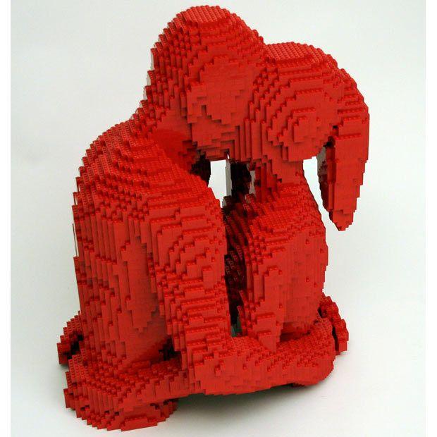 Skulptura od Lego Nathan Sawaya