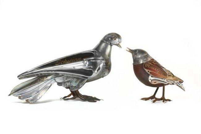 Skulptura od metala Edward Martin