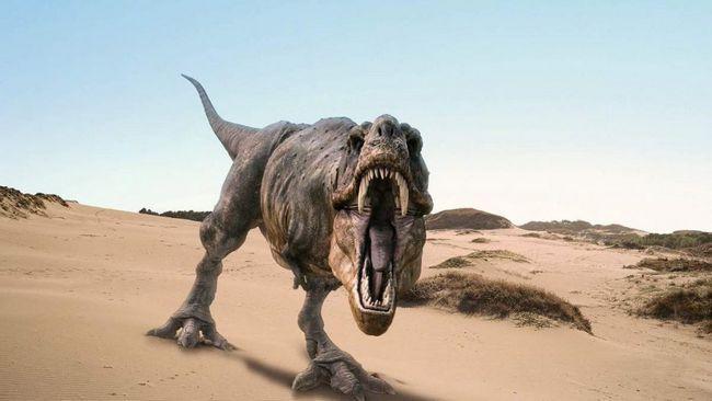 T-Rex - hrozný dravec, ktorý tiež odmietol klesať.