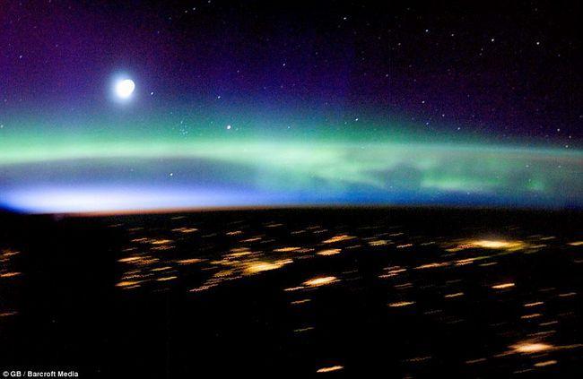 Astronauti na brodu Međunarodnoj svemirskoj stanici fotografisao ovu sliku Aurora Borealis (Northern Lights)