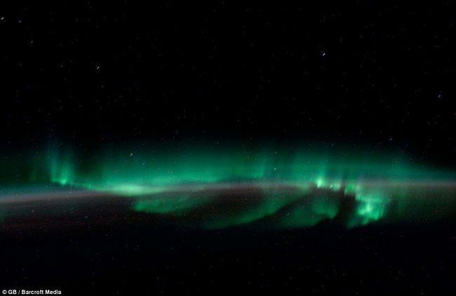 Ali u odnosu na jugu za sjeverni svjetla, koji se zove Aurora Australis