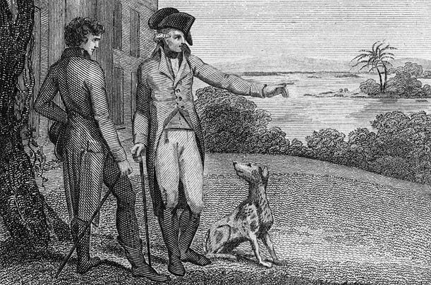 George Washington, američki Foxhound - prvi predsjednik je ozbiljno bavi uzgoj ove pasmine pasa