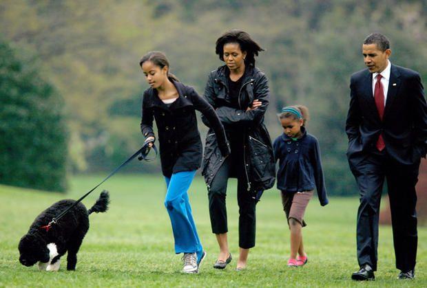 Ona je rekla da je dobila nadimak Bo jer je neko iz porodice Obama ima mačka, čije ime je isti.