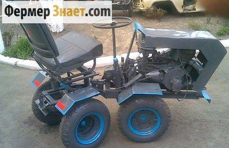 Собираем мини-трактор своими руками: советы начинающему фермеру