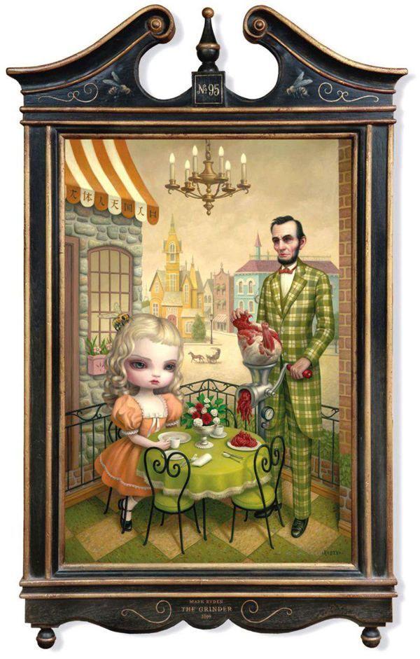 Čudno slike umjetnika Mark Ryden