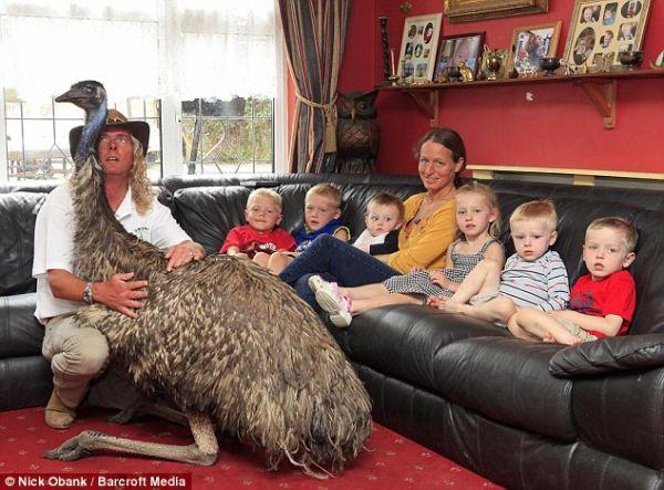 Emu na Beaky nadimak postala punopravni član porodice
