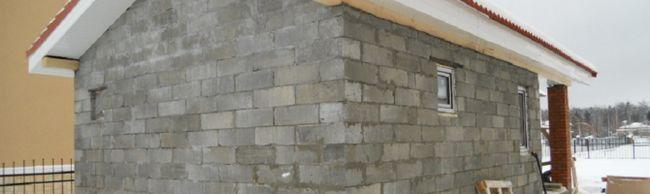 Izgradnja kupka pjene blokova sa svojim rukama