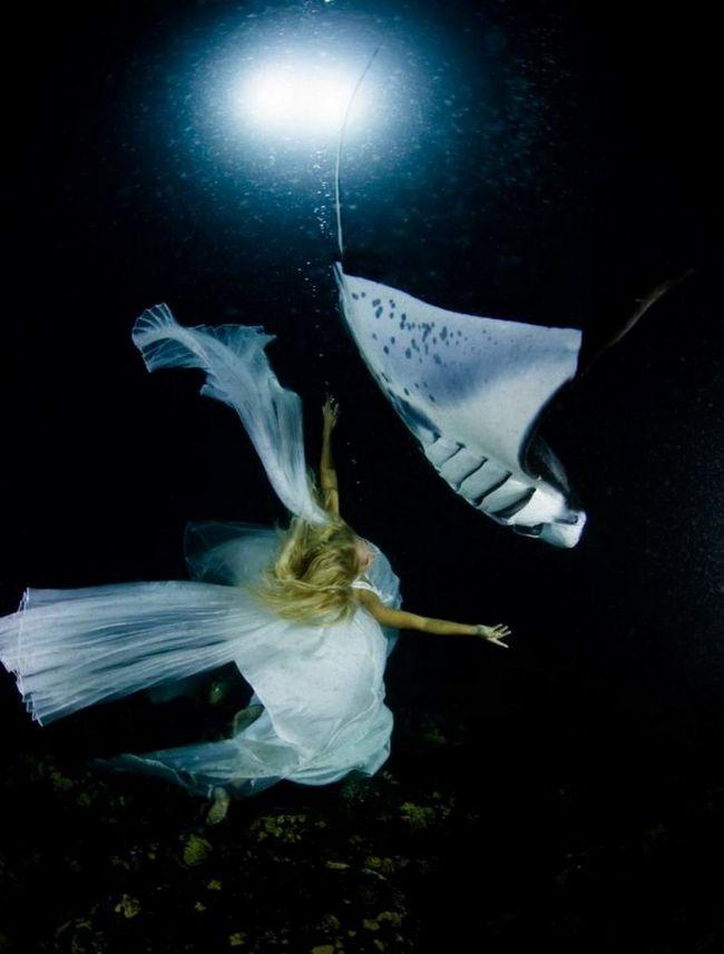 podvodni ples