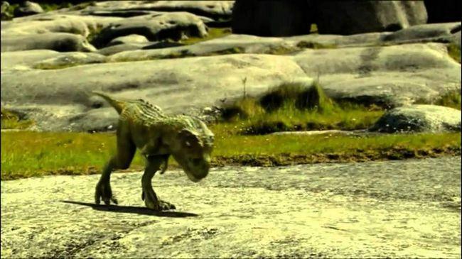 Malo Tarbosaurus.