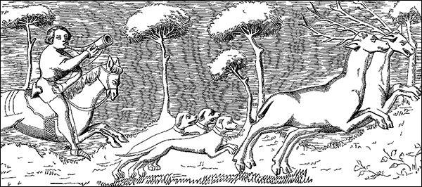 Lone Lovec jelenů obdrží odměnu. (Ilustrační Wikimedia Commons).