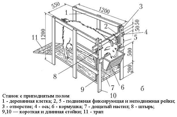 Struktura mašina za koze