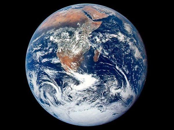 Nivo mora raste u prosjeku od 3,2 mm godišnje (Slika NASA).