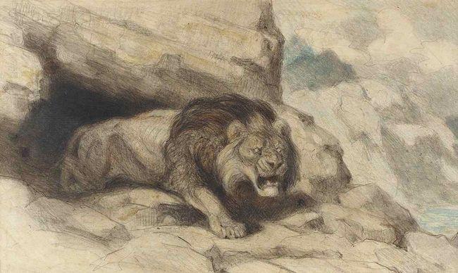 První věc je pochopit, vědci, jednou v jeskyni - že tam kdysi žili jeskynní lev.