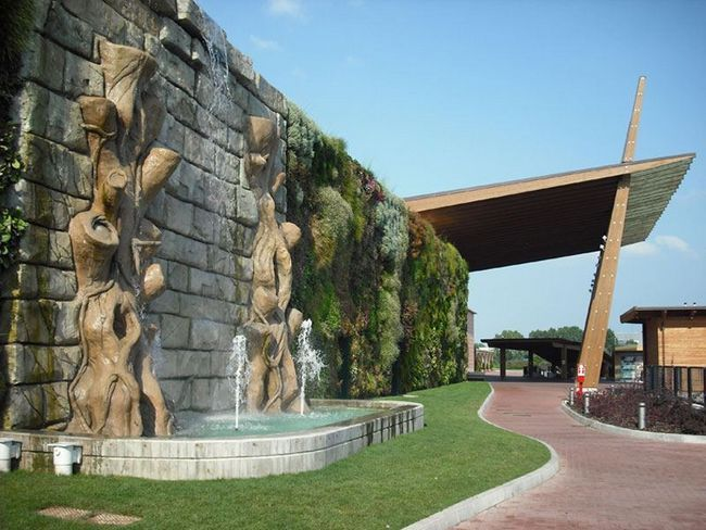 Vertikalni vrt Fiordaliso shopping centar