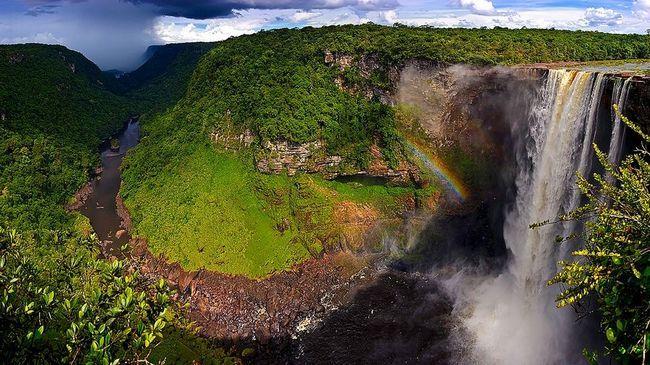 Vodopad Kaieteur (Kaieteur Falls)