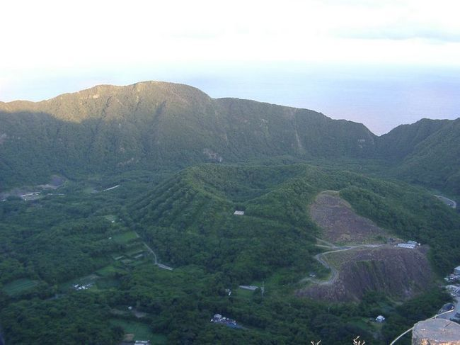 Vulkanski otok Aogashima, Japan