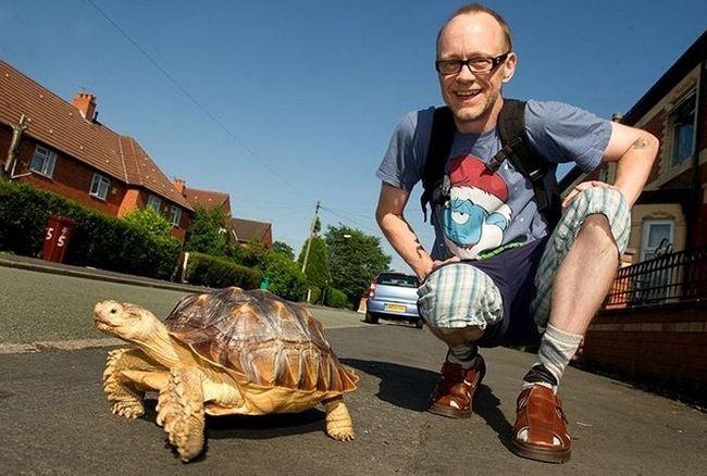 Rob se nada da će hodati sa svojim prijateljem svaki dan za ostatak svog dana