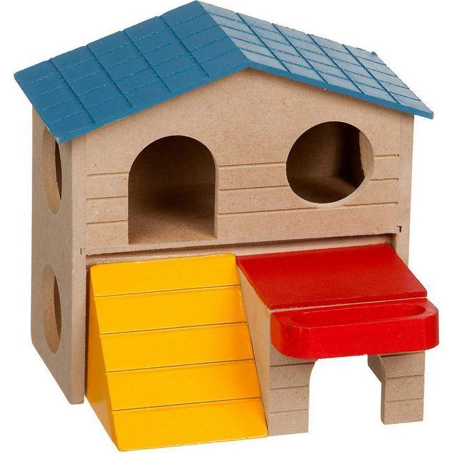 Nezapomeňte pravidelně uklízet dům křečka.