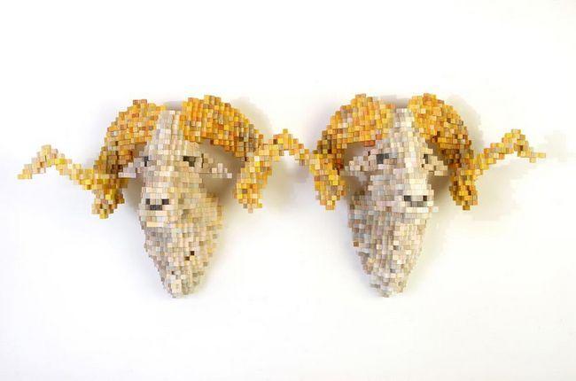 Životinje u piksel umjetnost Sean Smith