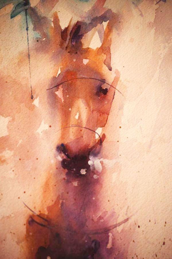 Životinje u akvarel Jean Haines